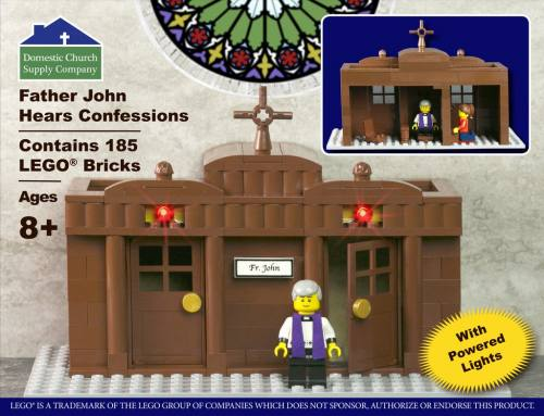 Building Bricks Fr. John Hears Confessions