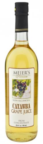 Meier's Still White Catawba Grape Juice Mustum Bottle