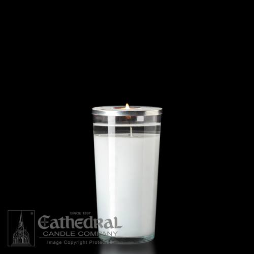 Chapel Light Candle 72 Hour Clear Case