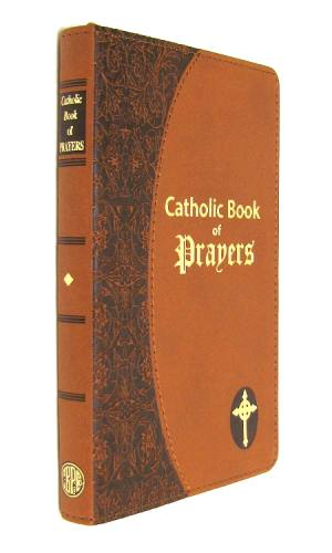 Prayer Book Catholic Book of Prayers Dura-Lux Brown