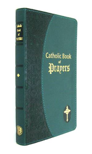 Prayer Book Catholic Book of Prayers Dura-Lux Green