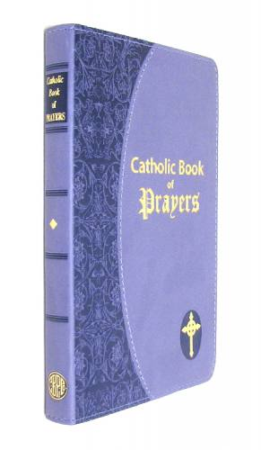Prayer Book Catholic Book of Prayers Dura-Lux Lavender