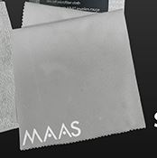 Maas Metal Polishing Microfiber Reusable Cloth Single