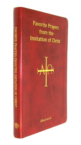 Prayer Book Favorite Prayers Imitation of Christ Imitate Leather
