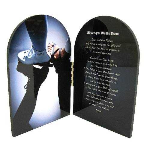 Diptych Plaque Sport Figure Skating Graphic Laminated