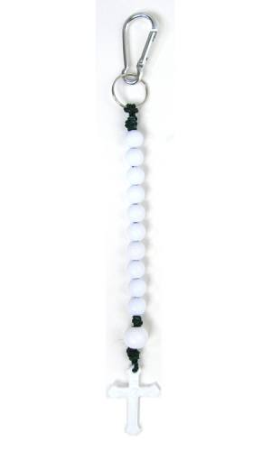 Keychain Rosary Golf Beaded Decade Sports Blessings