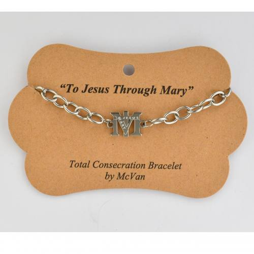 "Bracelet 7.5"" Total Consecration To Mary"