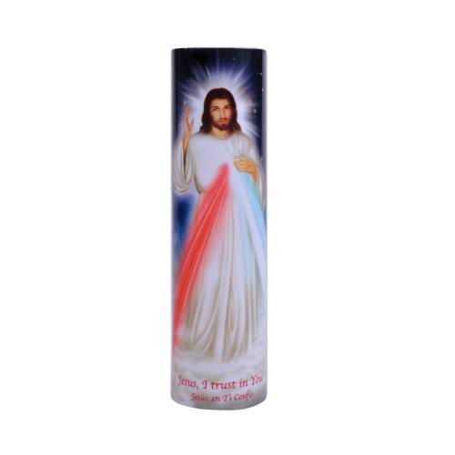 Divine Mercy Flameless LED Candle