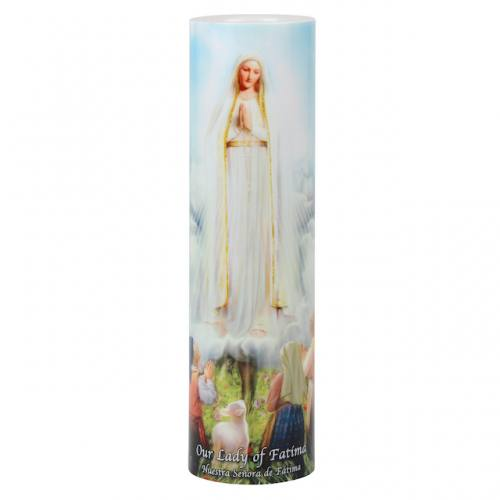 Mary Our Lady of Fatima LED Candle