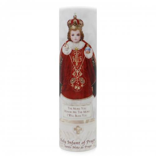 The Holy Infant of Prague Flameless LED Candle