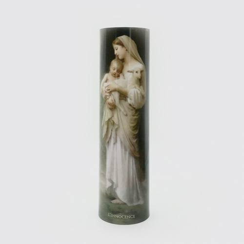L'Innocence Madonna & Child Flameless LED Candle