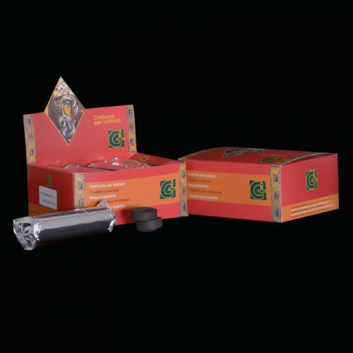 Charcoal Graziani Brand Red Box Long Lasting Briquettes Roll