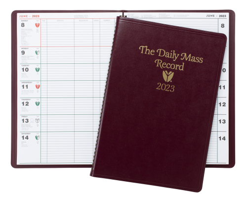 2023 Daily Mass Record Book