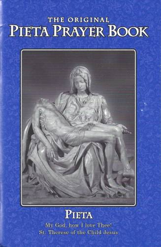 Prayer Book Pieta Regular Print Paperback Blue
