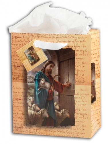Gift Bag Jesus Good Shepherd Large