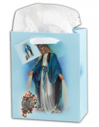 Gift Bag Mary Miraculous Medal Large