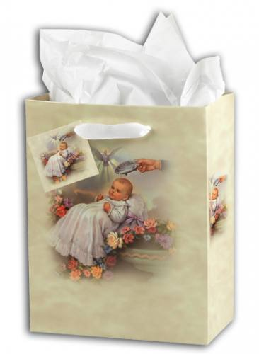 Gift Bag Baptism Traditional Small