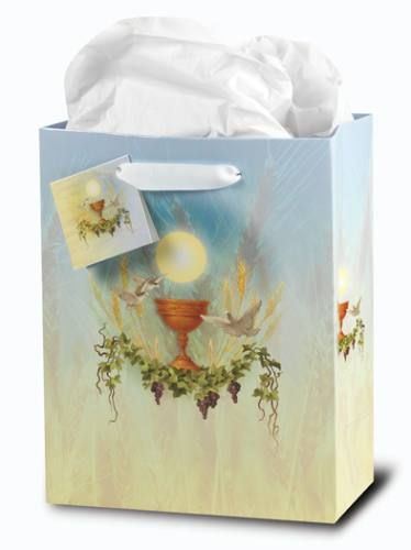 Gift Bag First Communion Traditional Medium