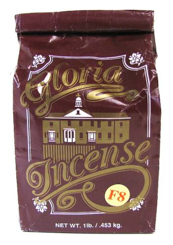 Incense Gloria Brand F8 Blend 1 Pound Resin