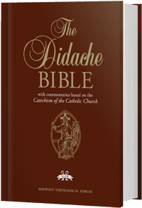 New American Bible Didache Bible Regular Print Hardcover