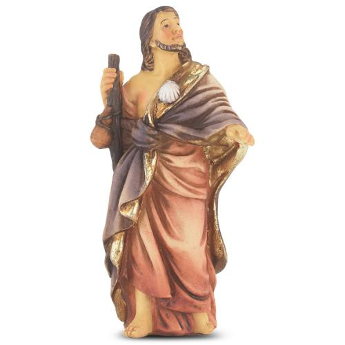 Statue St James Greater 4 inch Resin Painted Boxed