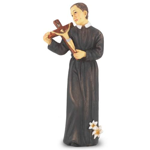 Statue St Gerard 4 inch Resin Painted Boxed