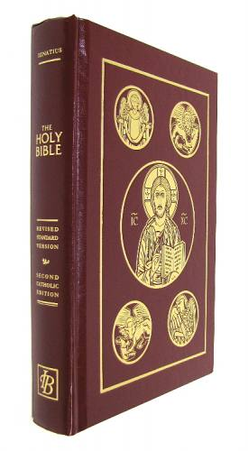 Revised Standard Version Ignatius Bible Regular Print Hardcover