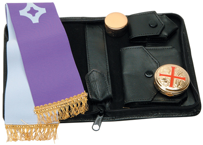 Viaticum / Home Call Set Leather Case