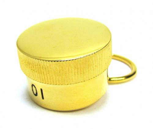Oil Stock Single with Ring Plated Gold