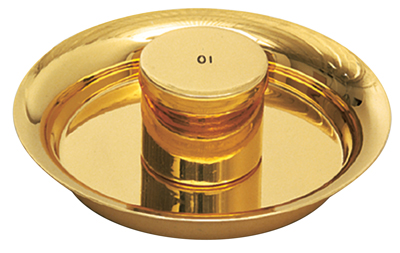 Oil Stock Ceremonial Plated Gold