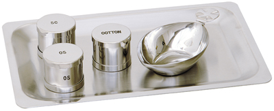 Baptismal Tray Set Stainless Steel