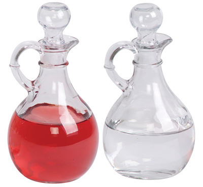 Cruets Set Glass 10 oz