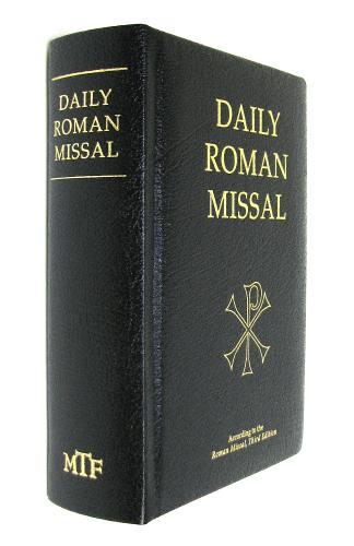 Daily Roman Missal Regular Print Leather Black