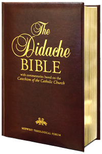 New American Bible Didache Bible Regular Print Leather
