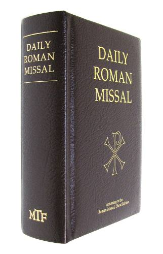 Daily Roman Missal Regular Print Leather Burgundy