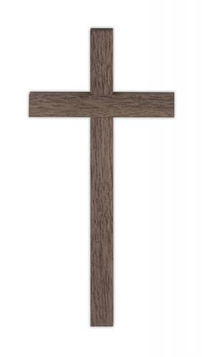 Cross Wall Value 10 inch Walnut Thick