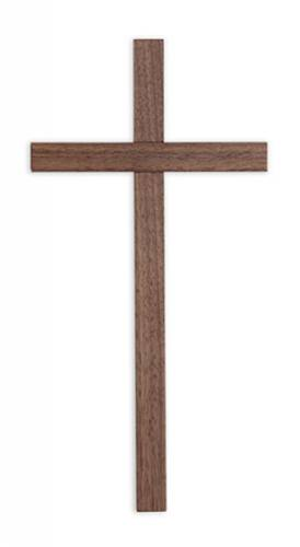Cross Wall Value 12 inch Walnut
