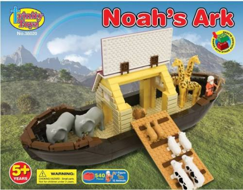 Building Blocks Noah's Ark Trinity Toyz