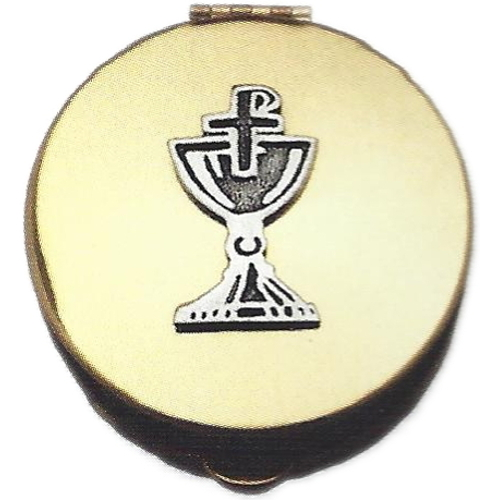 Pyx Chalice Plated Brass Hospital