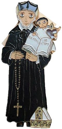 Saint Andrew S Abbey Ceramics St Philip Neri Plaque