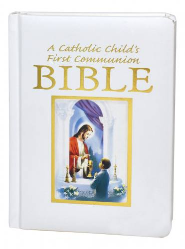 A Catholic Child's First Communion Bible Traditions Boy