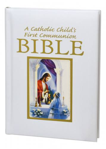 A Catholic Child's First Communion Bible Traditions Girl
