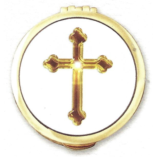 Pyx Graphic Gold Cross Gold Plated Cast Large
