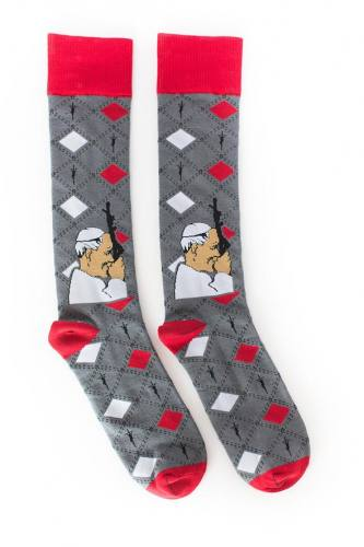 Sock Religious Saint John Paul II Socks Adult Cotton Nylon Spand