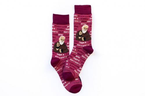 Sock Religious Saint Padre Pio Socks Adult Cotton Nylon Spandex