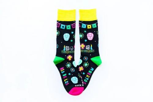 Sock Religious Day of the Dead Socks Adult Cotton Nylon Spandex