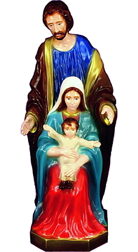 Garden Statue Holy Family 24 inch Outdoor Vinyl