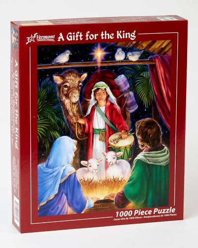 Puzzle Christmas A Gift For The King 1000 Piece Jigsaw