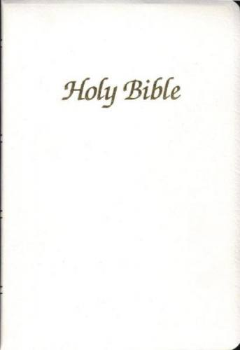 New American Bible World Catholic Regular Print Communion White