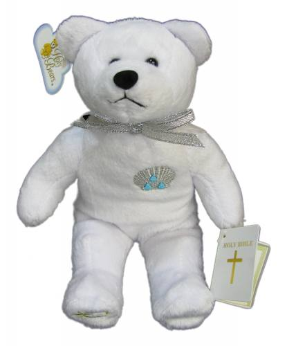 Teddy Bear Baptism White Holy Bears Plush